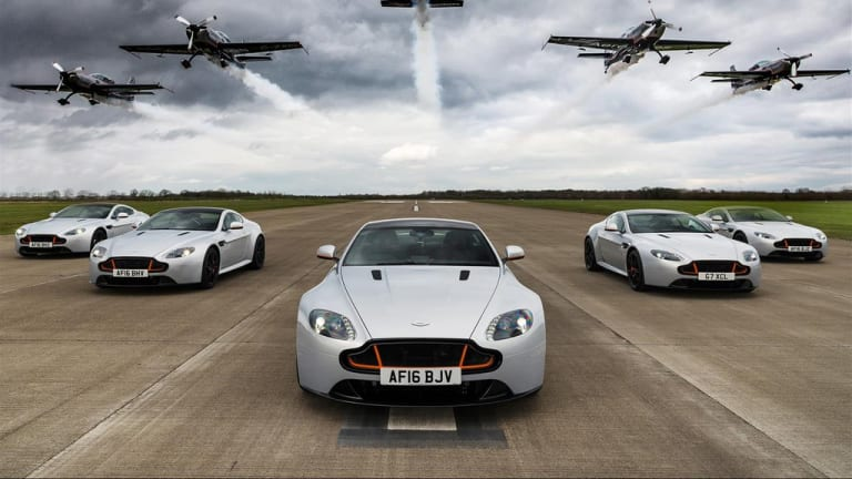 Aston Martin takes to the skies for a limited edition V8 Vantage