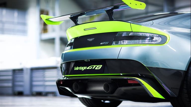 Aston Martin's Vantage GT8 takes its racing developments to the street