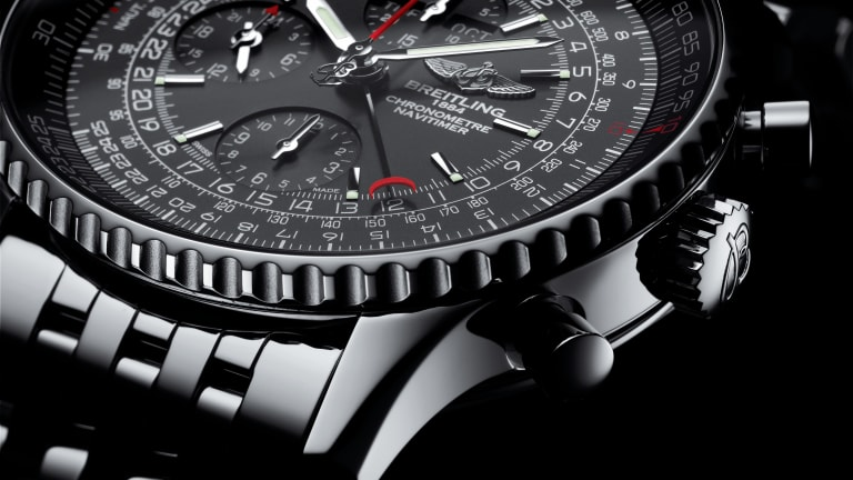 Breitling's Navitimer 1884 enhances an aviation-favorite