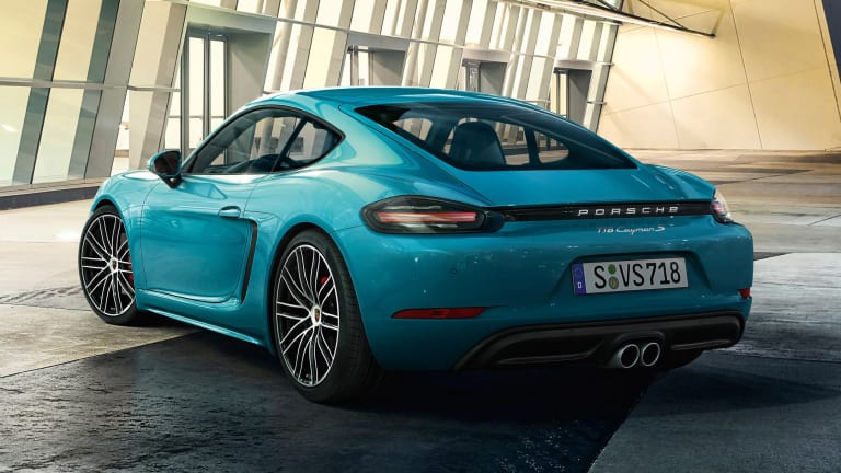 Porsche follows up the Boxster with the 718 Cayman