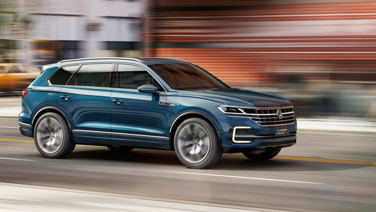 Volkswagen's newest SUV goes upmarket with the T-PRIME Concept GTE