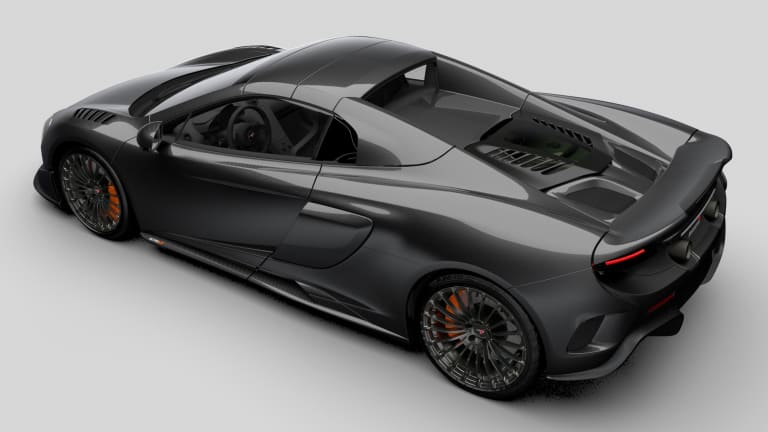 McLaren's MSO team unveils a limited edition carbon fiber version of their 675LT Spider