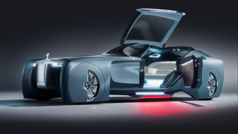 Rolls-Royce's 103EX offers a sneak peek into the brand's future