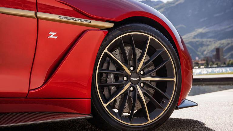 Aston Martin announces production of the Vanquish Zagato