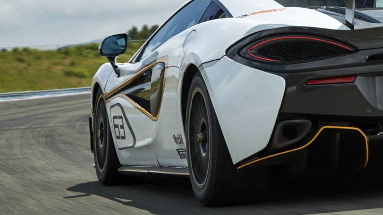 McLaren catapults its 570 series down the raceway with a new track-only model