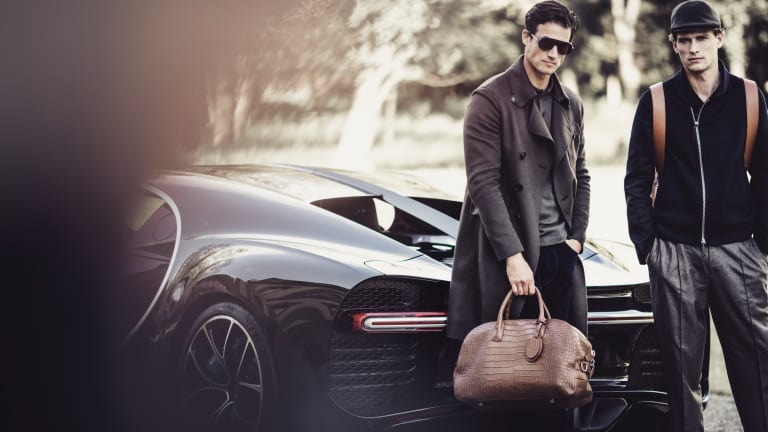 Bugatti collaborates with Giorgio Armani on a limited edition capsule