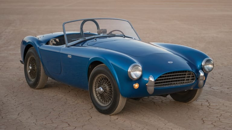 The first-ever Shelby Cobra is going up for auction