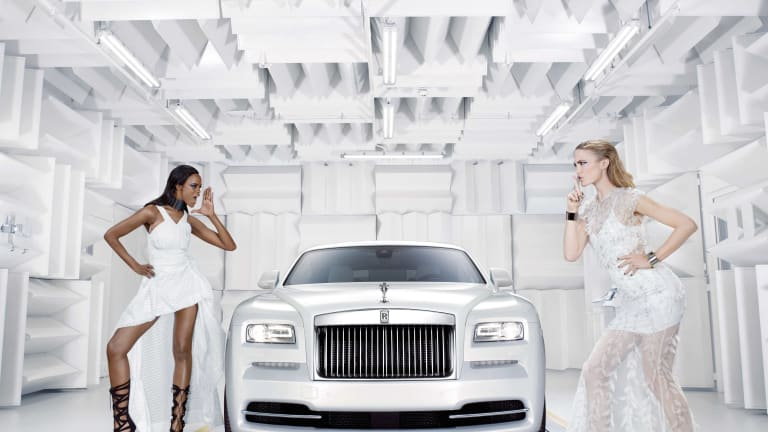 Rolls Royce hits the runway with its fashion-inspired Wraith