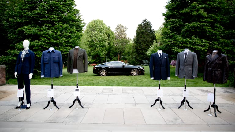 Bentley presents Intelligent Details: The Bespoke Driving Jacket