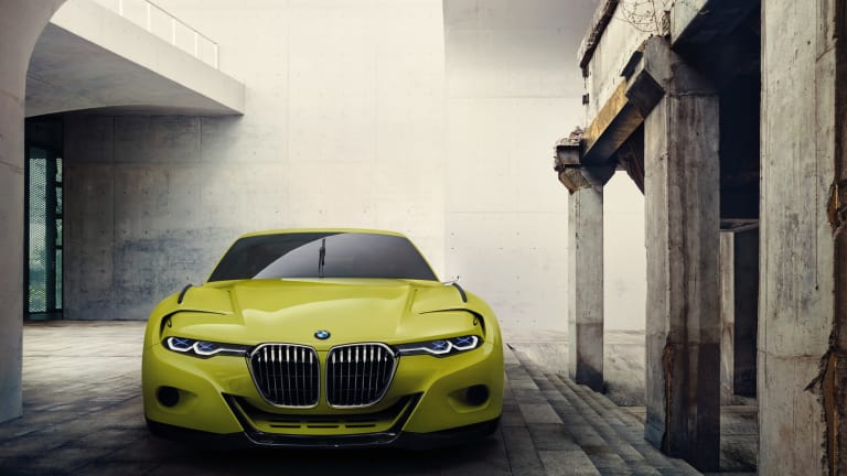 BMW presents their hommage to the 3.0 CSL