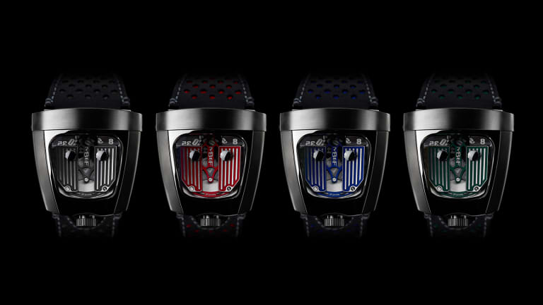 MB&F celebrates their 10th Anniversary with the HMX