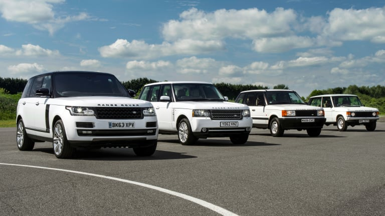 Land Rover celebrates the 45th Birthday of the Range Rover