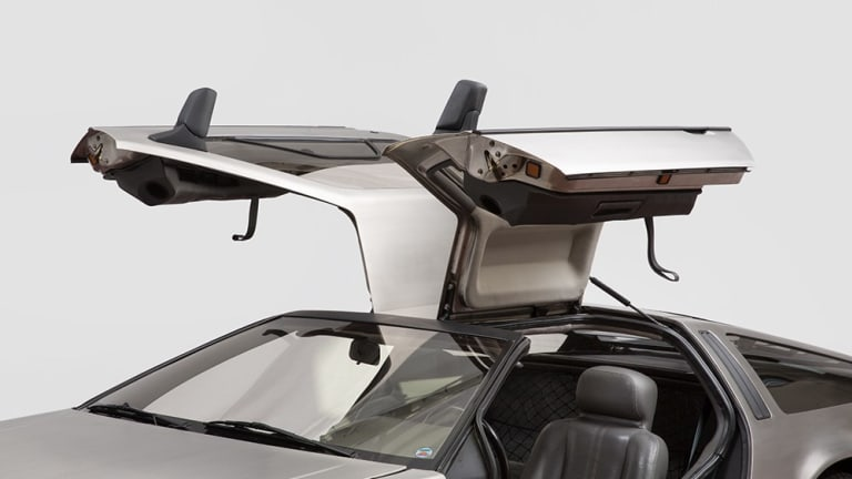 Up for Sale   A DMC-12 gifted from John Delorean to his former wife, Cristina Ferrare