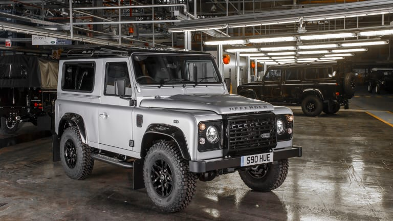 Land Rover builds the 2,000,000th Defender