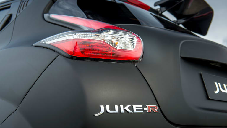 The 600-hp Nissan Juke-R 2.0