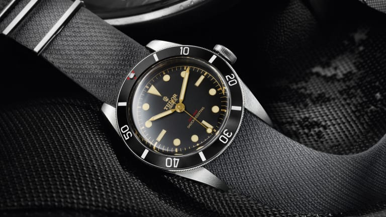 Tudor's one of one Black Bay for Only Watch 2015