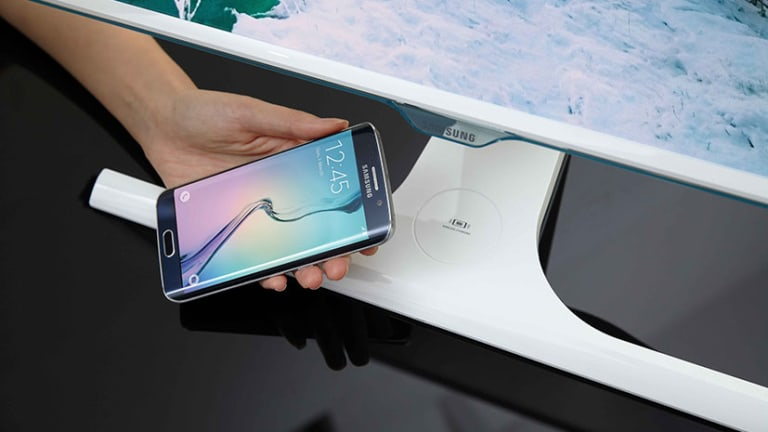 Samsung debuts the world's first phone-charging monitor
