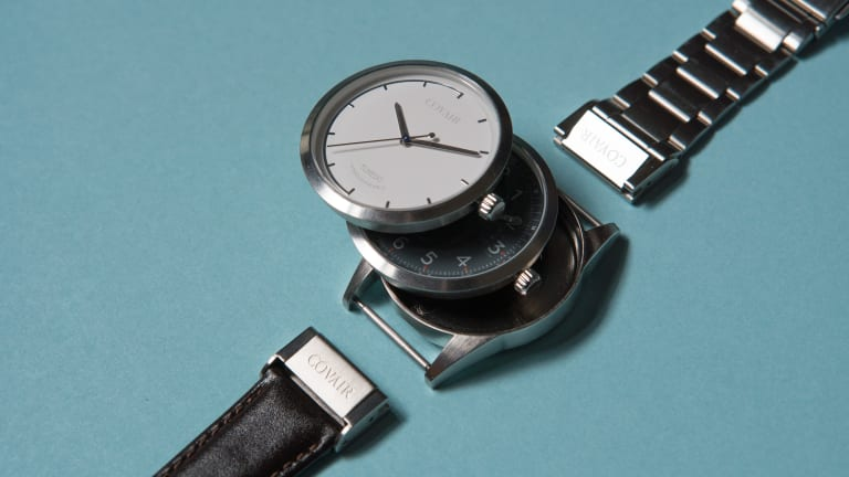 Covair's affordable and interchangeable Timepieces