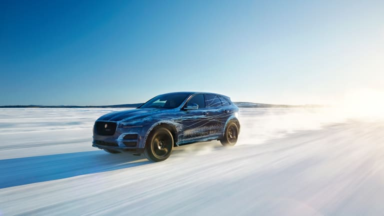 Jaguar puts the highly-anticipated F-Pace through wringer in its latest preview