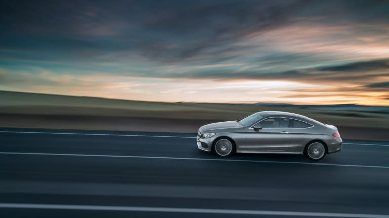 The 2017 Mercedes-Benz C-Coupe