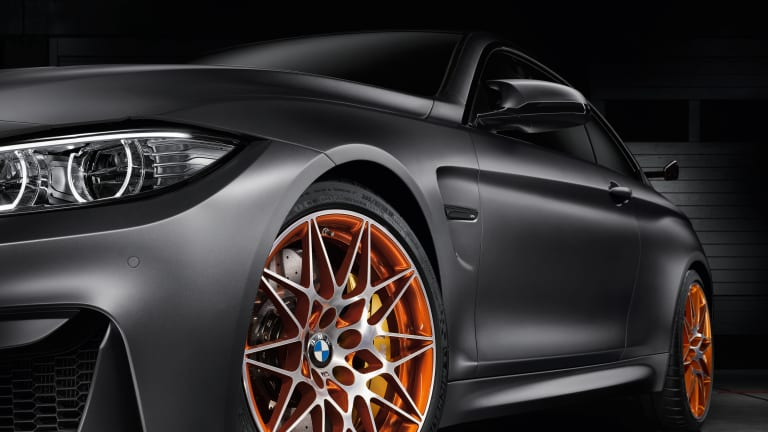 BMW previews its race-ready M4 GTS