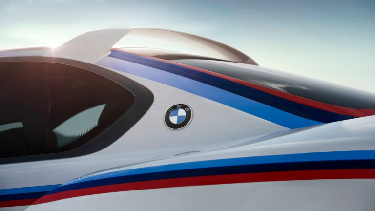 BMW's tribute to the 3.0 CSL gets a familiar livery