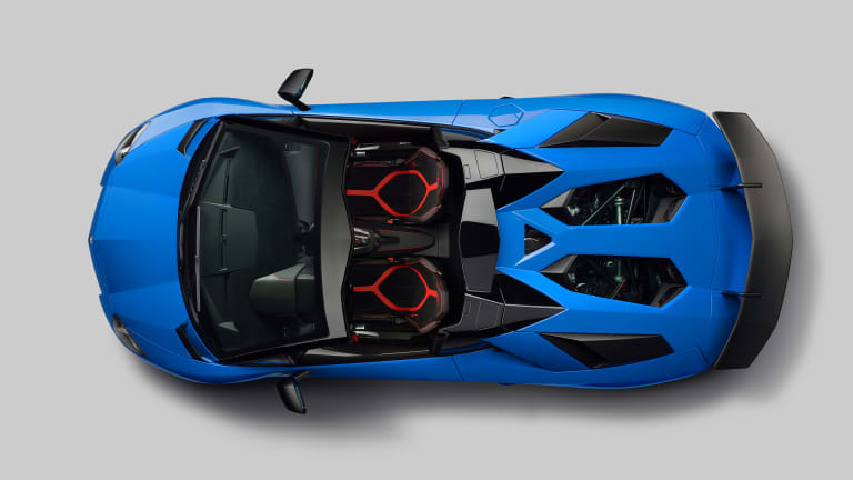 Lamborghini's 217 mph drop-top, the Aventador LP 750-4 SV Roadster