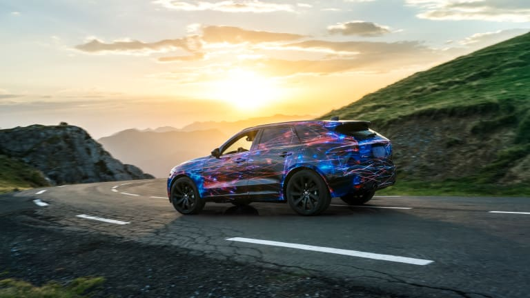 Jaguar continues to tease the F-Pace in its latest video