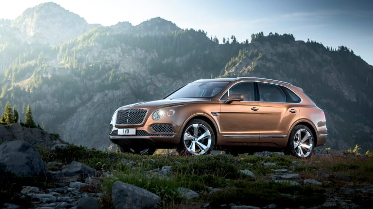 Bentley reveals the most luxurious SUV in the world, the Bentayga