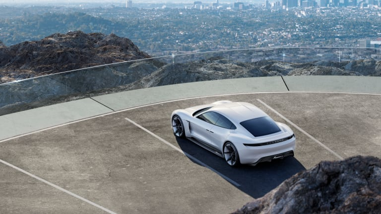 2015 Rewind | Porsche goes after Tesla with the all-electric, Mission E concept
