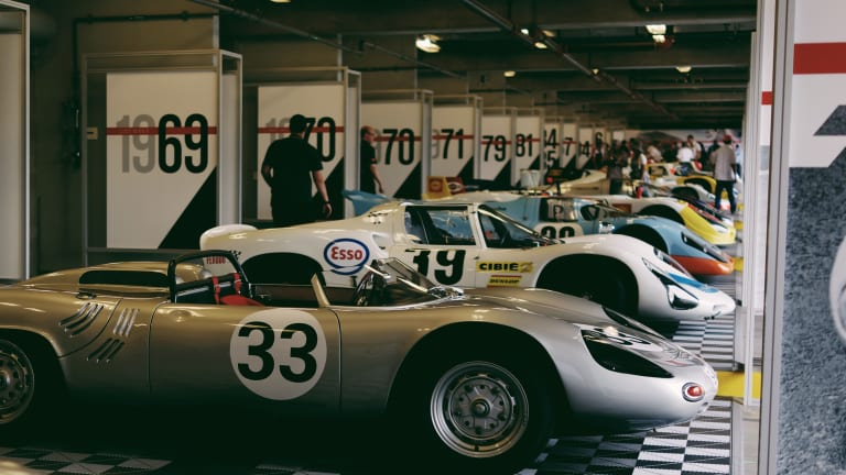 A look at this year's Rennsport Reunion V