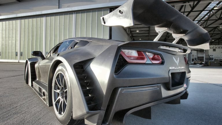 Callway unleashes one of the meanest Corvettes to ever hit the track