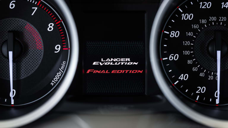 Mitsubishi says goodbye to the Evo with the Lancer Evolution Final Edition