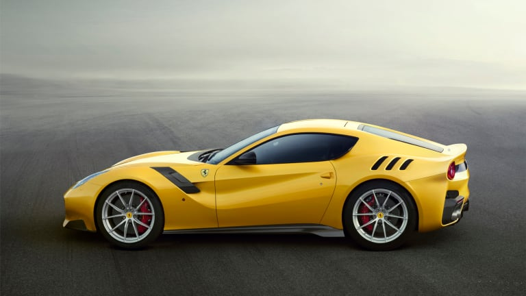 Ferrari pays tribute to the Tour de France with the 769-hp F12tdf