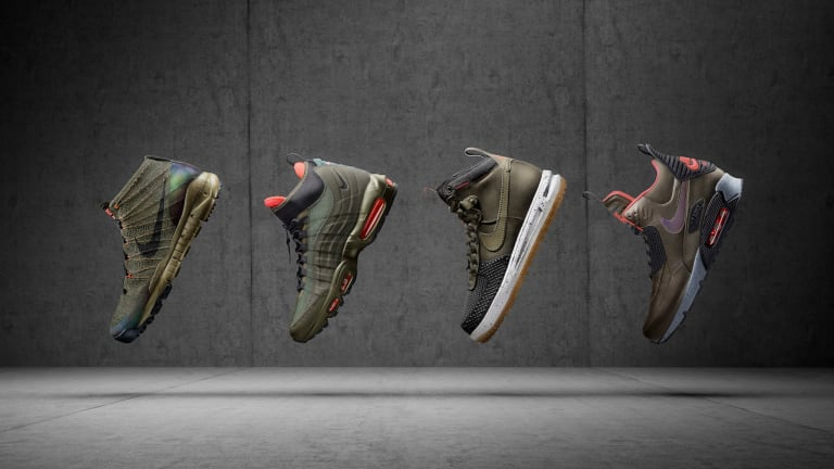 Nike's winter-ready Holiday 2015 Sneakerboot Collection