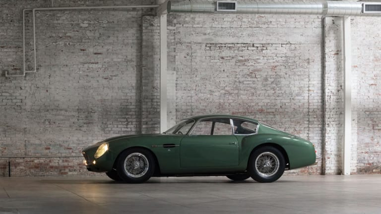 RM Auctions offers up one of the most beautiful cars to wear the Aston Martin Badge