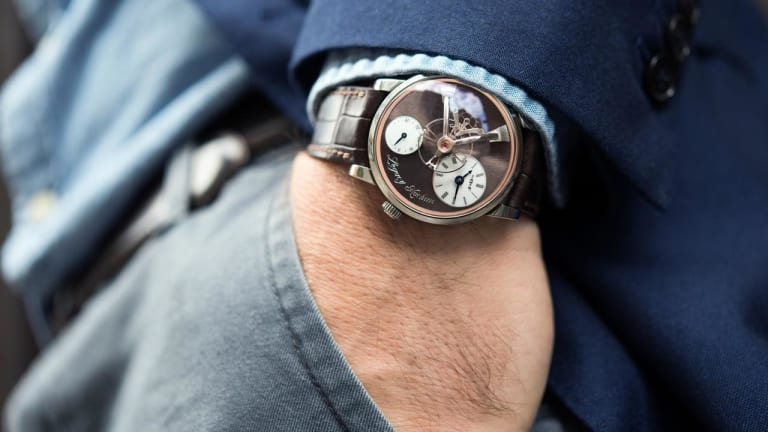 Hodinkee releases a ten-piece limited edition with MB&F
