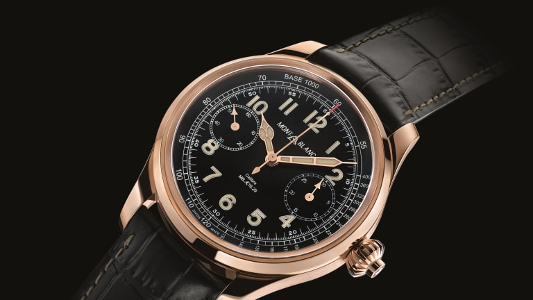 Montblanc draws from classic Minerva timepieces for its 1858 Collection