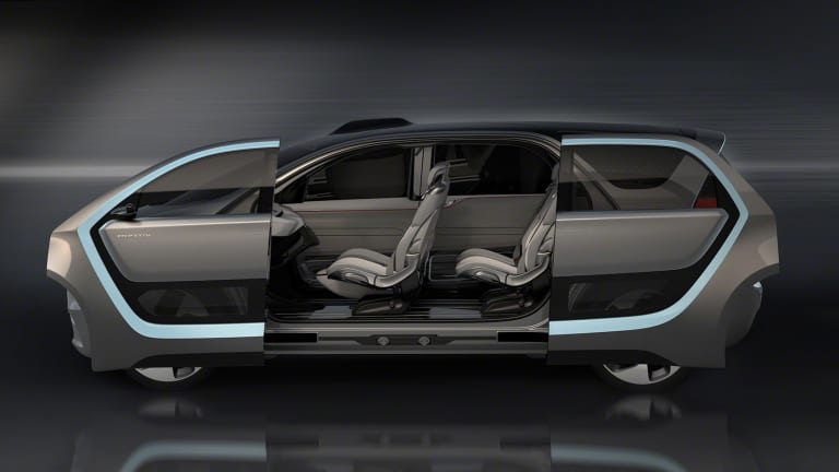 Chrysler's Portal Concept reworks the minivan into a self-driving car of the future