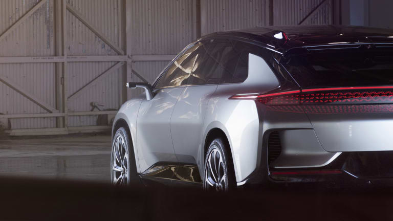 Faraday Future unveils the FF91
