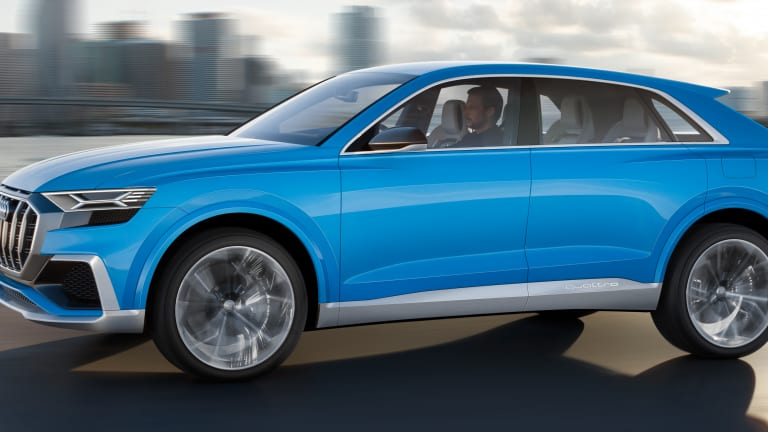 Audi previews the upcoming Q8