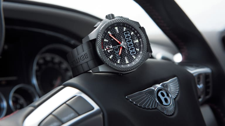 Breitling builds a special watch for the fastest car in the Bentley lineup