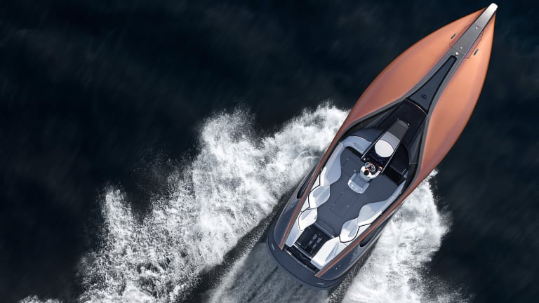Lexus hits the seas with their Sport Yacht Concept