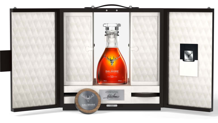 The Dalmore's new 50 Year old celebrates half a century of its Master Distiller's work