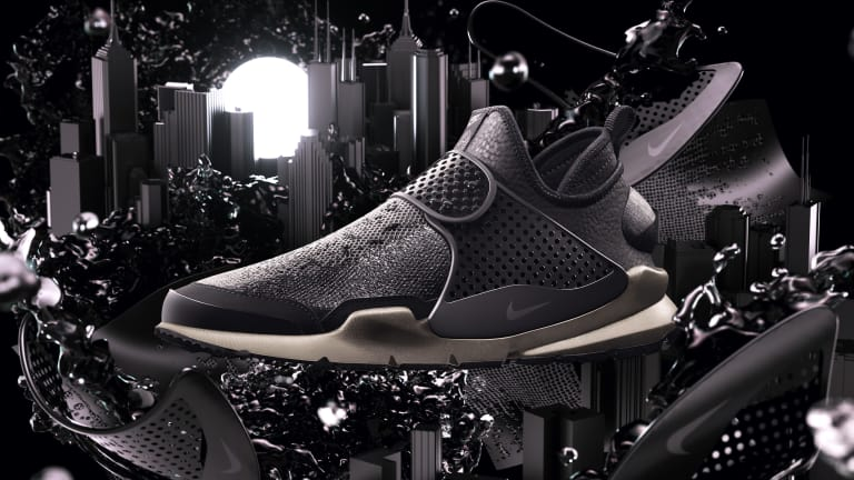 Nike and Stone Island team up on a limited edition Sock Dart