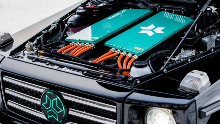 Kreisel reveals an all-electric G-Class