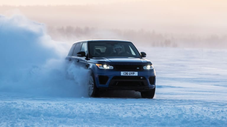 Watch | The Range Rover Sport SVR shows off its power on every terrain