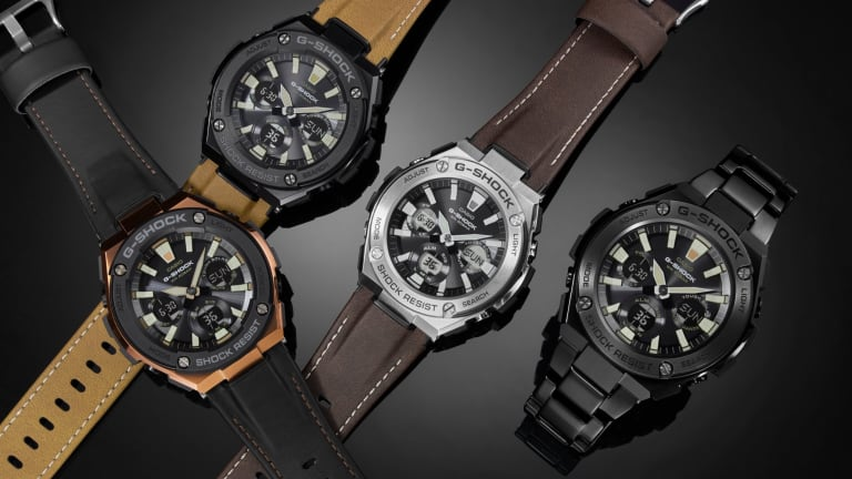 G-Shock buttons up with their new G-Steel line