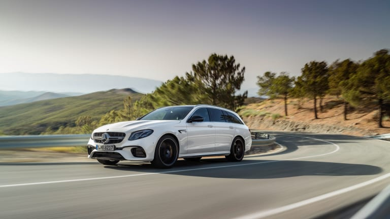 Mercedes-AMG sets a 0-60 record for wagons with the 2018 E63 S