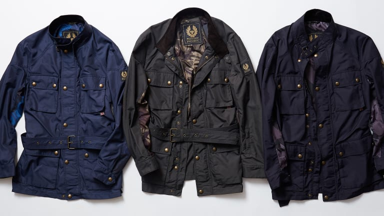 Belstaff releases a spring capsule with Japan's Sophnet